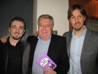 Lo Staff di Cognomix insieme a Claudio Lippi con il libro Piacere Felice Mastronzo